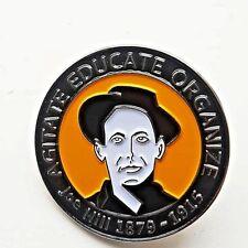 Joe Hill Enamel Pin Badge - Socialist Trade Union Marxist IWW