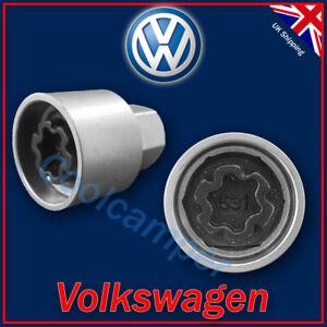 Volkswagen Security Master Locking Wheel Nut Key 531 M 17mm VW Golf Passat Polo