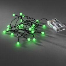LED Globe-Lichterkette 20er Batterie Timer innen grün 1491-907 xmas
