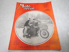 MOTO REVUE N° 1057 3 NOVEMBRE 1951 Essai Peugeot 175 / Réglages des Carburateur*
