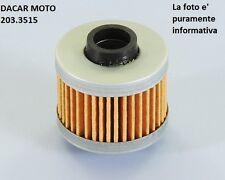 203.3515 FILTRO DE ACEITE EN PAPEL POLINI PEUGEOT SATELIS 125 Compresor