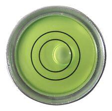 Niveau à Bulle d'Air Circulaire Bulls Eye Boîtier Métallique - Niveau de Surface