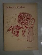 LA BOTTE E IL VIOLINO RIVISTA REPERTORIO BIMESTRALE DI DESIGN E DISEGNO 1965