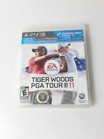 Tiger Woods PGA Tour 11 (Sony PlayStation 3) PS3 CIB Complete