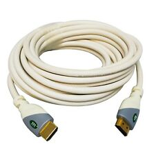 Monster Cable 500HD HDMI Cable - 1080p - 6 Meter (20 Ft) - White/Cream Color