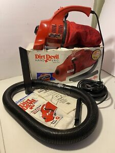 DIRT DEVIL 103 WC HAND VAC CORDED VACUUM CLEANER HANDHELD MADE IN USA USED