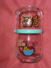 Gorilla Glass Piggy Bank with Showa Retro Banana From japan F/S