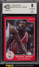 1984-85 Star Basketball Michael Jordan ROOKIE RC #195 BCCG 8 (PWCC)