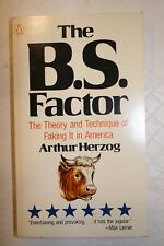 The B. S. Factor Arthur Herzog 1973 FREE SHIPPING!