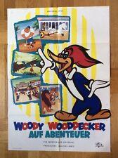 Woody Woodpecker auf Abenteuer (Kinoplakat '70er)