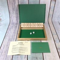 Jaques of London Shut the Box Dice Game Complete