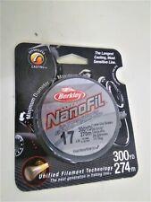 Berkley NanoFil Fused Low-Vis Green 17 lb. 300 yds. Nf30017-22 Upc: 028632613344