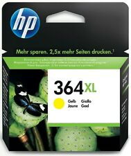 HP 364 XL gelb PHOTOSMART B8550 C5324 C5380 C6380 D5460 D5400 ------ OVP 04/2018