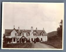UK, Scotland, Glencoe Heather  Vintage silver print. Vintage England Tirage ar