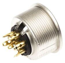 Lumberg KFV Series, 6 Pole Din Socket Socket, DIN EN 60529, 5A, 250 V ac IP40