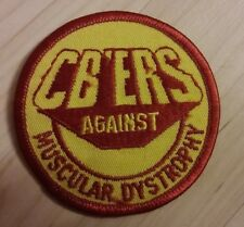 Cb Radio Muscular Dystrophy Jacket Patch - Vintage Citizens Band Radio Uniform