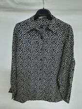 Cacharel maglietta t-shirt camicia giacca jacket donna woman tg M jacket blu