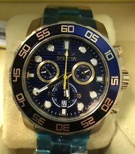 Invicta Men's 21555 Pro Diver 50mm Gold Swiss Watch Authorized Retailer