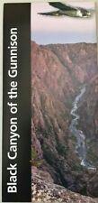 2018 BLACK CANYON of the GUNNISON NP  NATIONAL PARK SERVICE BROCHURE MAP Unigrid