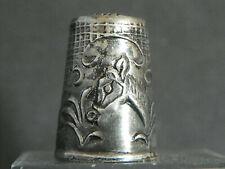 Dé à coudre en argent / silver thimble/ Fingerhut silber