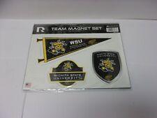 Wichita State Shockers 3-piece Regular Team Magnet Set. Great Graphics.   #205