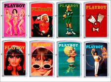 Zippo Lighter PLAYBOY Cover Magazine Pin Up Vintage Playmate Sexy Girl MIB