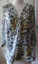 Katies Women's Polyester Animal Print Casual Tops for Women
