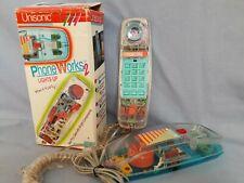 Vintage Festnetz Telefon Uniconic Phone Works 2, 6900 ZX,  Acryl neon 90er Jahre