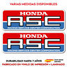 2X PEGATINA STICKER HONDA RSC RACING CENTER AUTOCOLLANT AUFKLEBER LAMINADO VINYL