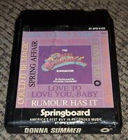 Donna Summer songbook album 8-Track tape Cartridge performed by Allison Coleman