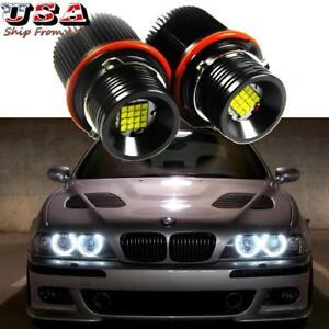 160W White CREE LED Angel Eyes Halo Ring Marker Bulbs For BMW E39 E60 E63 E65