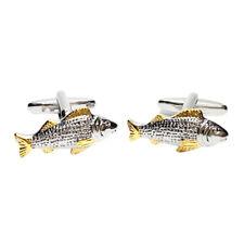Carpa Pescado Pescador gemelos de dos tonos X2NYU017