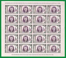 Guinea,  Kennedy 4 Mini sheets Imperf.  MNH.