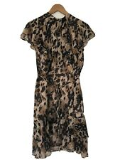 Oasis Animal Print Dress New Leopard Size 18 Was £60