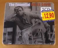 THE ESSENTIAL MILES DAVIS - 2CD - 2008 STEEL BOX - NUOVO CD [AF-274]
