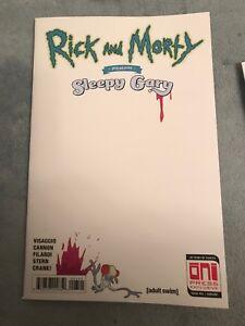 RICK & MORTY PRESENTS SLEEPY GARY NEW YORK COMIC CON EXCLUSIVE RARE