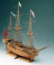 "Beautiful, Intricate Wooden Model Ship Kit by Corel: the ""Sirene"""