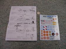 Decals Carpena  decals 1/72 72-30 De Havilland Mosquito   M157