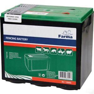 Fencing battery 9V 120Ah