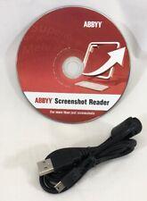 ABBYY Screenshot Reader Windows Installation CD 2009 Part 598/8 disc only