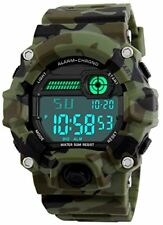 Kids Digital Watches, Boys Sports Military Watch with AlarmTimerShock Resistan