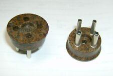 vintage NOS Amphenol 4-Pin Male Plug for ham, radio, CB, Hammond, Leslie