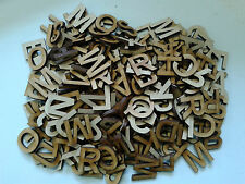 Laser Cut Wooden Letters 25mm 3mm MDF Approx 250 Crafts Card Making Words