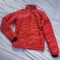 Women's Columbia Jacket Redish Pink, Omni-Heat Puffer Size XS Omni Shield