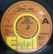 "Ed Banger - Kinnel Tommy UK 1978 7"" EMI Records"