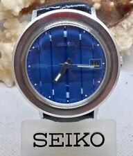 UNUSUAL JUMBO SEIKO AUTOMATIC WATCH 40mm 1980s