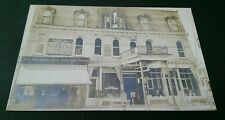 ZA5 Penn Yan NY Vintage RPPC A & P Tea Geo. Himler Cigar & Tobacco Real Photo