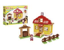 "The constructor PlayBIG ""Masha's Home"" Masha and the Bear 95 pcs. Masha i Medved"