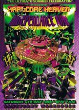 HARDCORE HEAVEN Rave Flyer Flyers A4 4/7/98 Sanctuary Milton Keynes