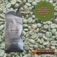 Caffè Verde in Grani Santos Brasile Guaxupè Dulce 1 Kg - Caffè Arabica 100%
